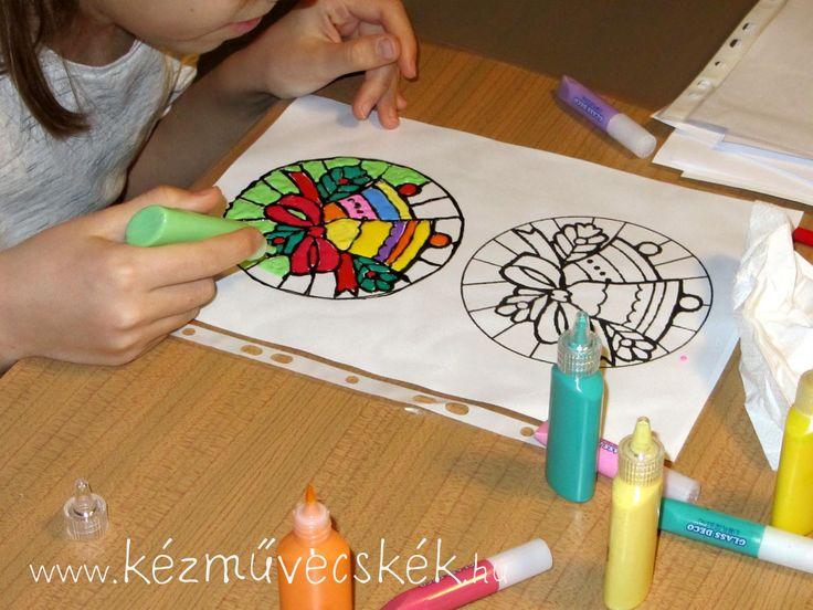 Üvegmatrica-festés: trükkök és fortélyok