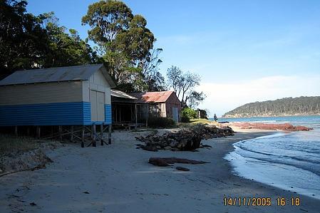 Pambula river shack