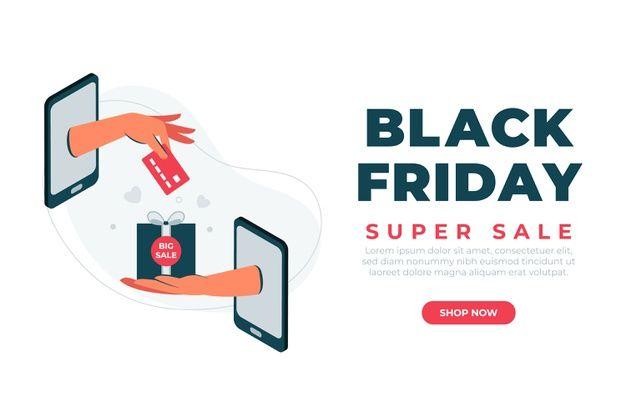 Flat Design Black Friday Super Sale Banner In 2020 Sale Banner Black Friday Banner Big Sales Banner