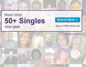 Dating site for men&women over 50-  Ourtime
