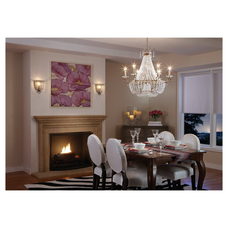 Dutchess Collection By Feiss 6 Light Chandelier And Wall Sconces Diningroom