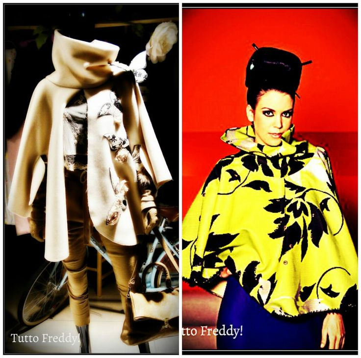 The history of poncho in Colombia is an important element of cultural, national and social identities. ........... Unique pieces hand made in Barcelona. www.freddygaviria.com