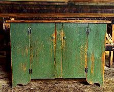 Primitive Painted Furniture | Painted Wood Furniture - Distressed Painted & Milk Paint Furniture ...