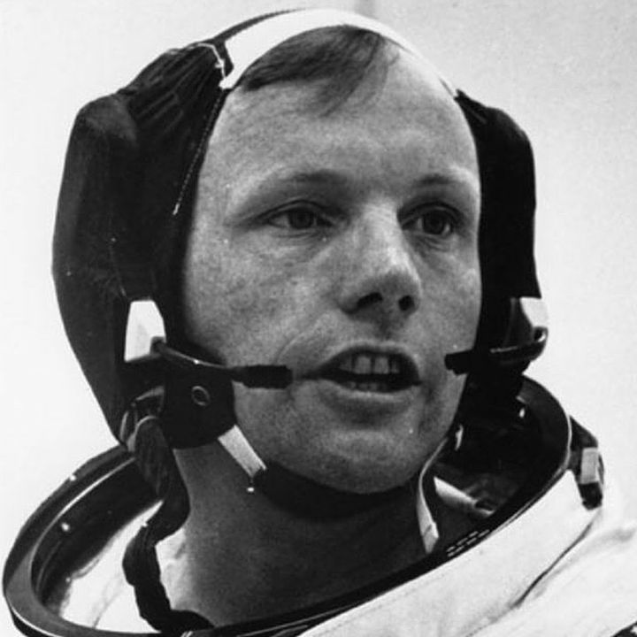 Neil Armstrong: I believe every human has a finite number of heartbeats. I don't intend to waste any of mine. #NeilArmstrong #ibelieve