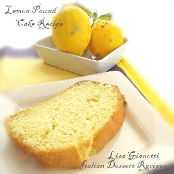 This lemon pound cake recipe is part of my lemon dessert recipes collection.And it happens to be one of  		those easy cake recipes made in one bowl.See this and 235 Italian dessert recipes with photos
