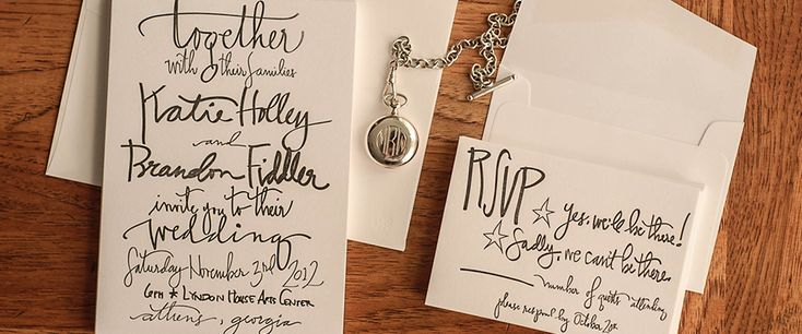 Superior Hand Written Calligraphy Wedding Invitations Designed By @kholley783 |  Letterpress | Pinterest | Invitation Design, Weddings And Wedding