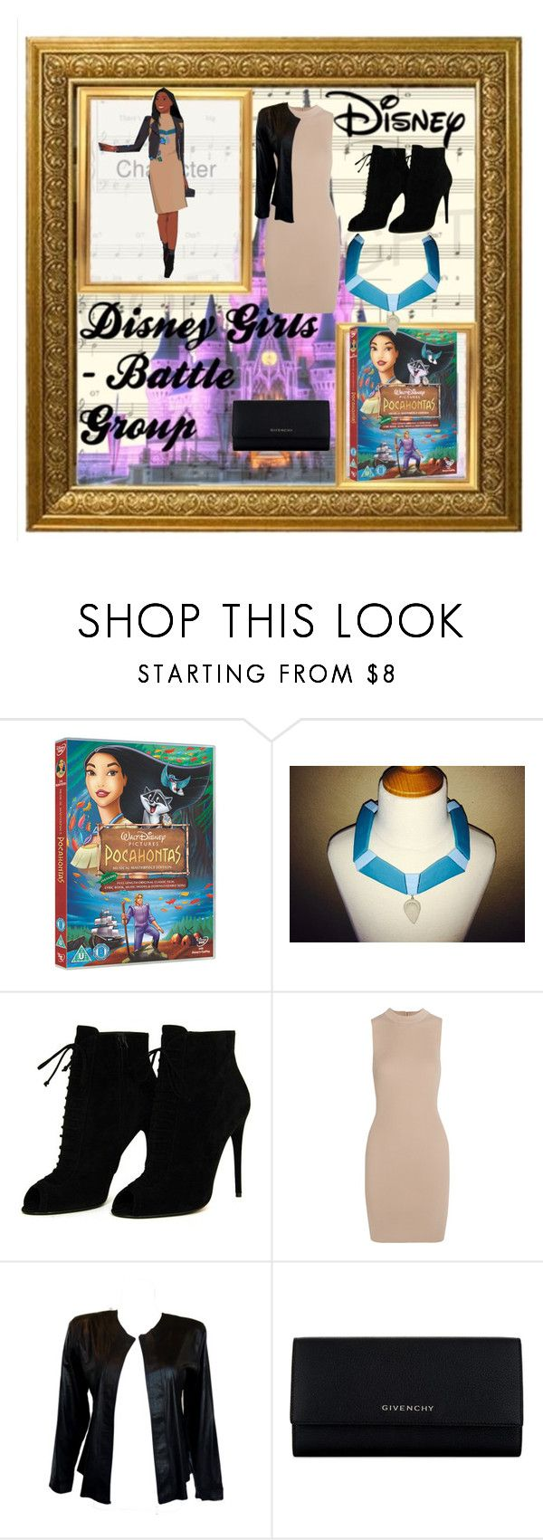 """modern pocahontas"" by vickiemickey ❤ liked on Polyvore featuring Disney, Tom Ford, Tart, Givenchy and modern"