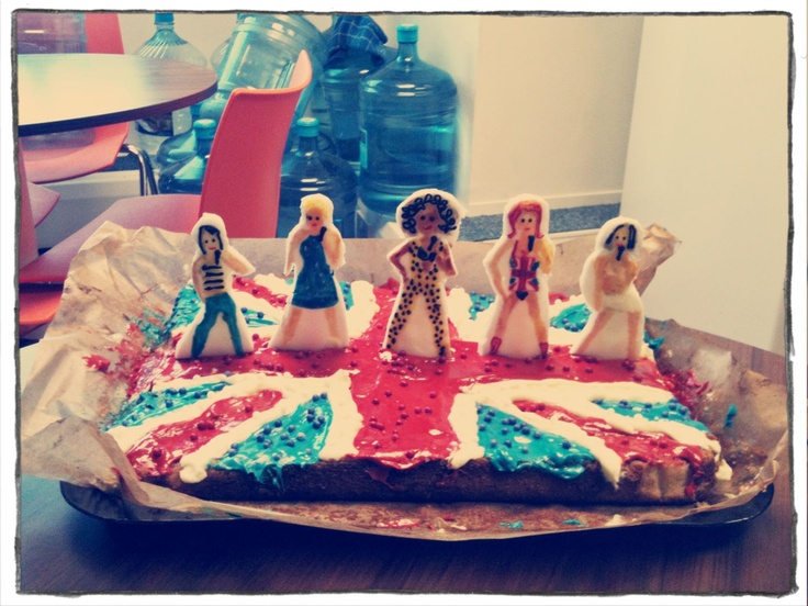 A Cake Dedicated To The New Musical Viva Forever Based On