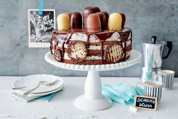 Unser beliebtes Rezept für Schokokuss-Torte und mehr als 55.000 weitere kostenlose Rezepte auf LECKER.de.