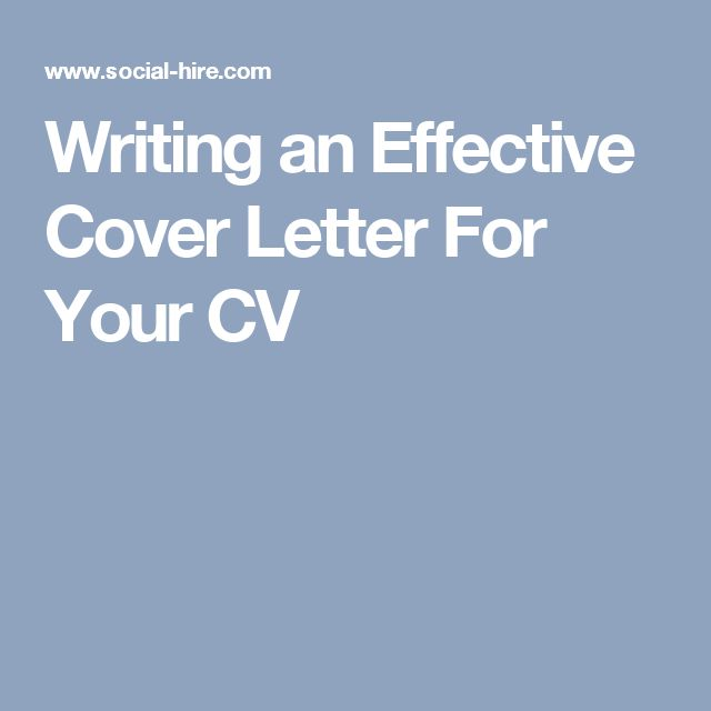 The 25+ best Effective cover letter ideas on Pinterest Cover - what to say in a resume cover letter