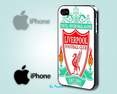 "Liverpool Football Club Print on Hard Plastic For iPhone 5 Case, Black Case  This case is available for: iPhone 4/4S iPhone 5/5S iPhone 6 4.7"" screen Samsung Galaxy S4 Samsung Galaxy S5 iPod 4 iPod 5"