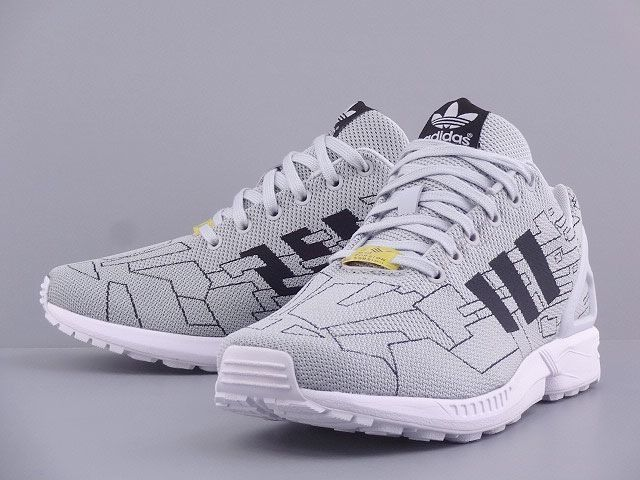 adidas Originals ZX Flux Weave: Solid Grey: adidas ZX
