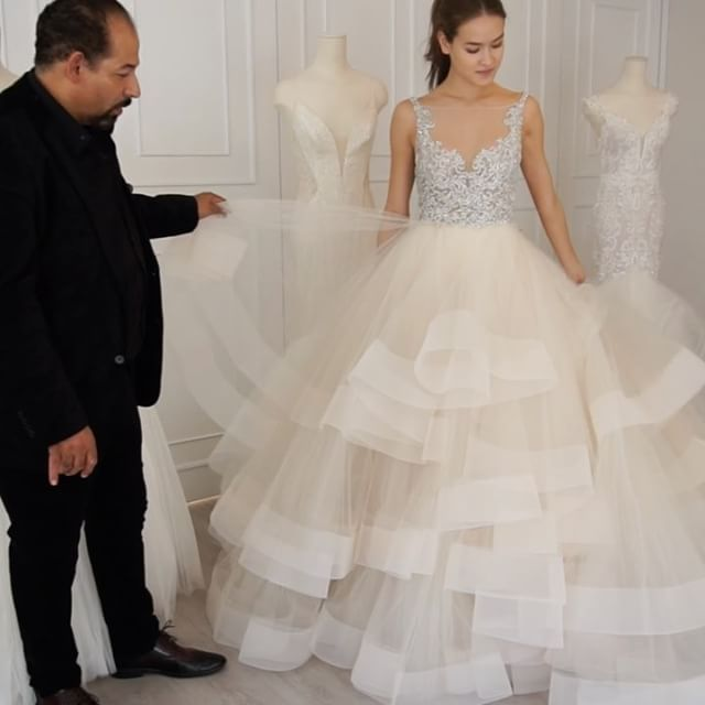 Everything You Need To Know About The NEW Spring 2017 Collection Told By Designer Lazaro Himself Link In Bio Lazarosp17 Strictlyweddings Exclusive