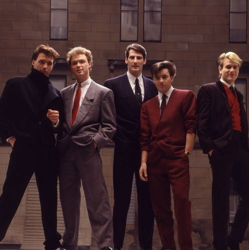 Spandau Ballet - one of the best-dressed bands of all time.