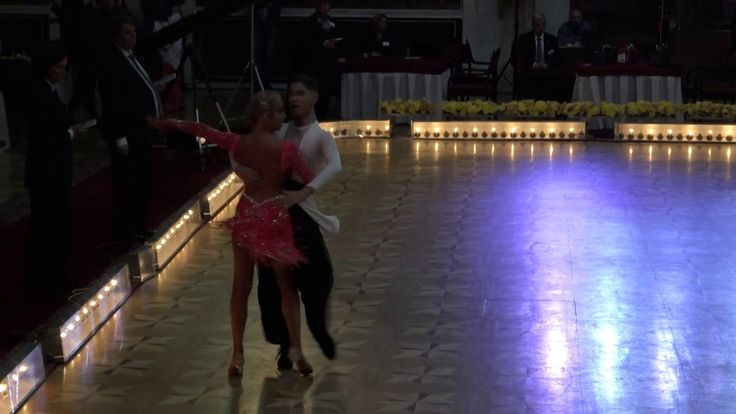 WDSF World Championship Junior II Ten Dance*MARIA SI COSMIN* Semifinal P...