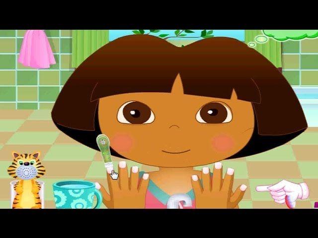 Baby Dora Hygiene Care - Dora Game Movie - Dora The Explorer - https://www.mybabycare.space/baby-dora-hygiene-care-dora-game-movie-dora-the-explorer/