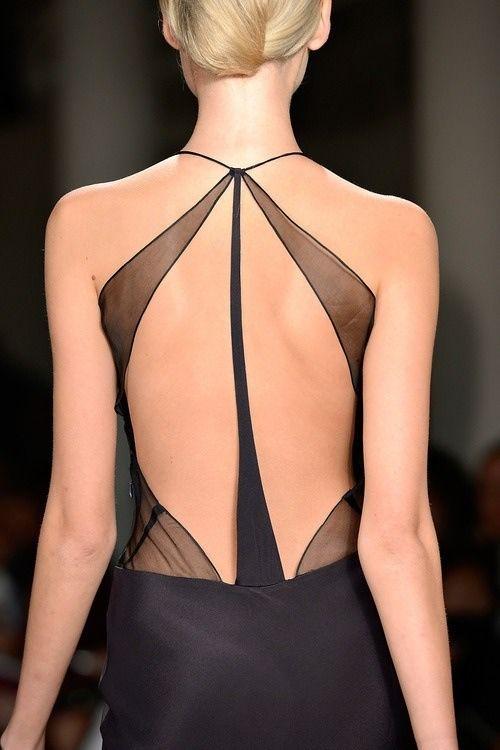 Beautiful back...Versace