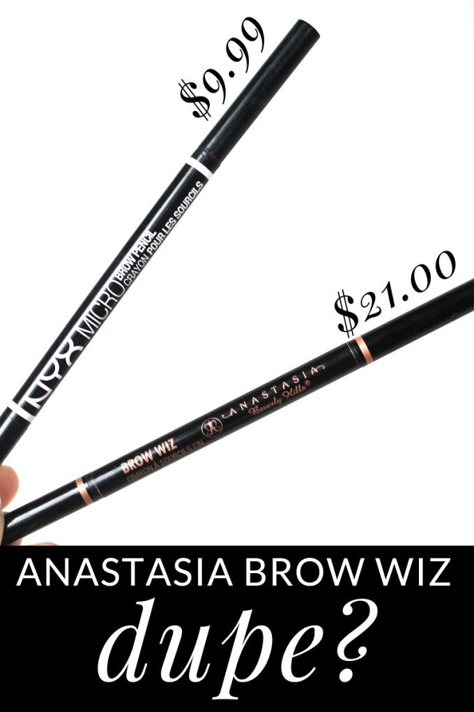 NYX Micro: Anastasia Brow Wiz Dupe? by beauty blogger Meg O. on the Go
