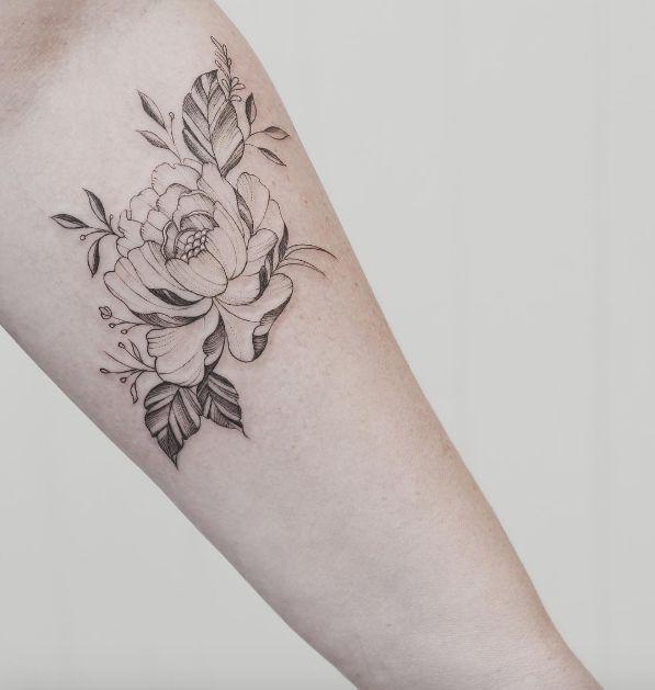 166 best images about pin ink patterns on pinterest for Single flower tattoo
