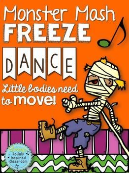 Halloween Activities - Need a fun brain break or movement activity to fill a few…
