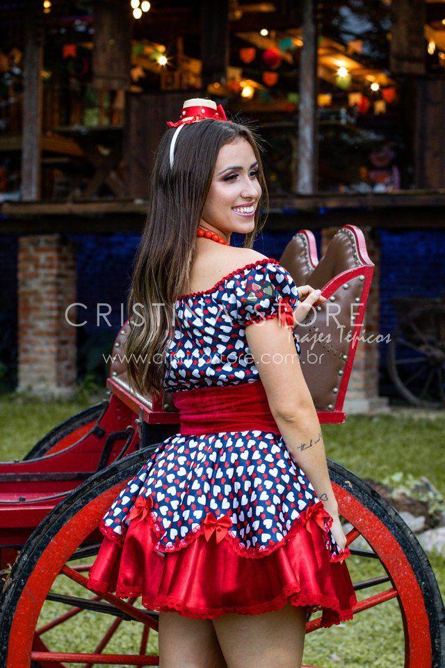 Vestido Lily Festa Junina Caipira Chic Vestido Festa Junina Adulto Saia Festa Junina Fantasia Festa Junina