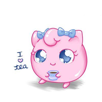 Sweet Tea Jigglypuff by Bon-Bon-Bunny.deviantart.com