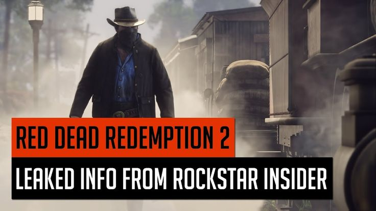Red Dead Redemption 2 Leaked Info From Rockstar Insider (RDR 2 Leaked Info)