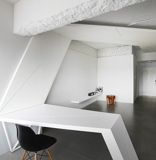 Leibal housewing anlstudio 3 house wing is a minimalist for Korean minimalist house