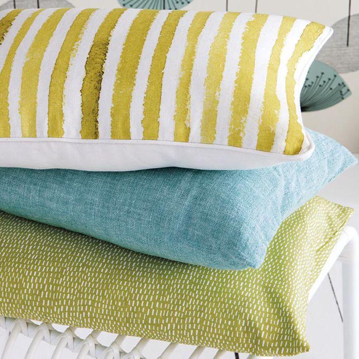 Cuscino lino rettangolare