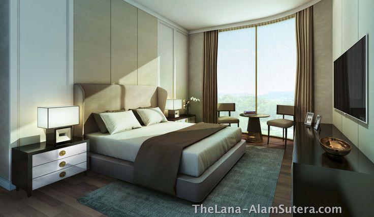 Design Interior Kamar Apartemen The Lana Alam Sutera