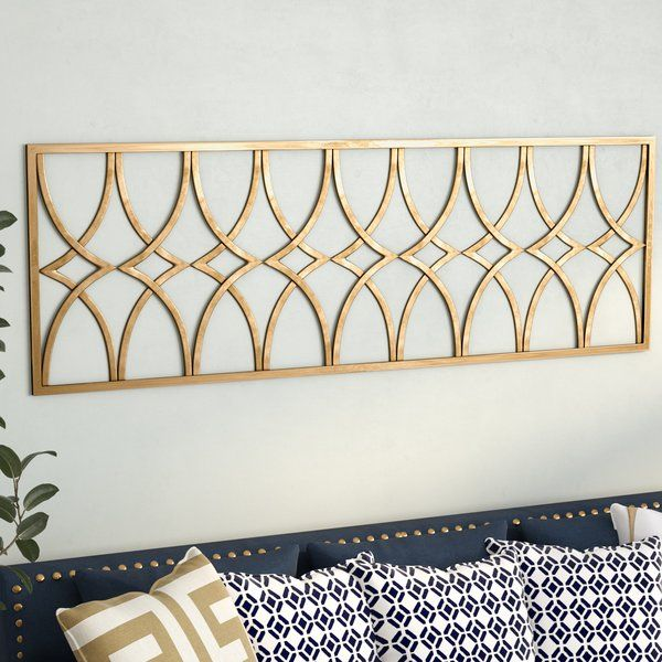 Willa Arlo Interiors Gold Metal Wall Decor Wayfair Gold Wall Decor Metal Wall Art Decor Iron Wall Decor