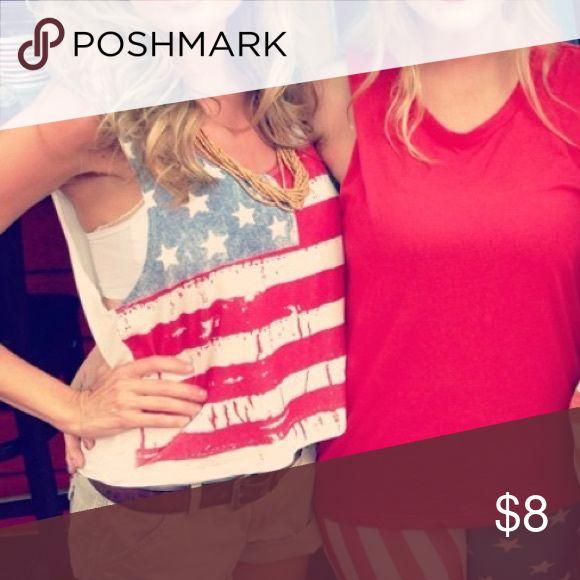 USA, Stars & Stripes Cute Tank USA, Stars & Stripes Cute Tank Tops Tank Tops