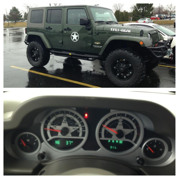 Jeep Wrangler Truck >> New JEEP WRANGLER JK ARMY EDITION. | For your Car& Truck | Pinterest | Jeep wrangler jk ...