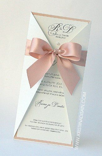 Stunning DIY Wedding Invitations.