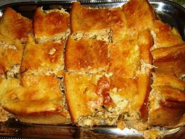 Receita de Torta de frango com palmito - Tudo Gostoso