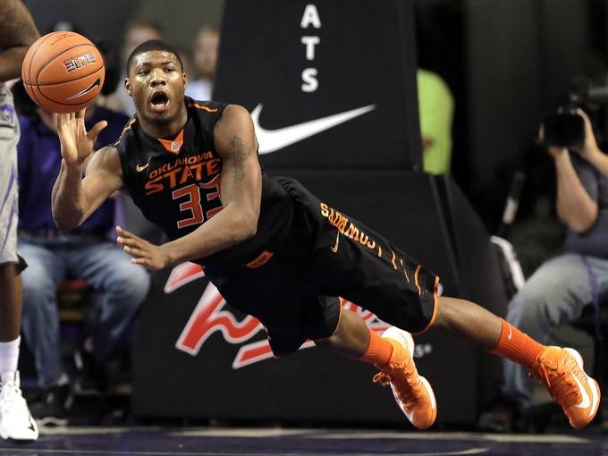 Marcus Smart - OSU http://www.usatoday.com/story/sports/ncaab/big12/2013/01/22/mens-college-basketball-oklahoma-state-marcus-smart-profile/1850729/