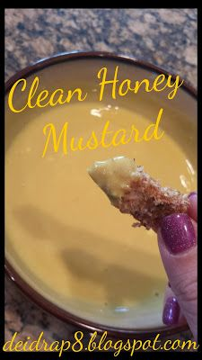 Im in love with condiments.. this recipe seriously taste like arbys honey mustard!! YUMMO!!! Perfect to dip with chicken strips! www.deidrap8.blogspot.com