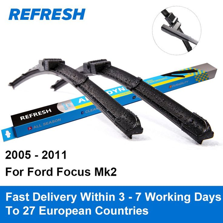 """Cheap price US $13.49  Refresh Wiper Blades for Ford Focus Mk2 International Model 26""""&17"""" Side Pin 2005 2006 2007 2008 2009 2010 2011"""