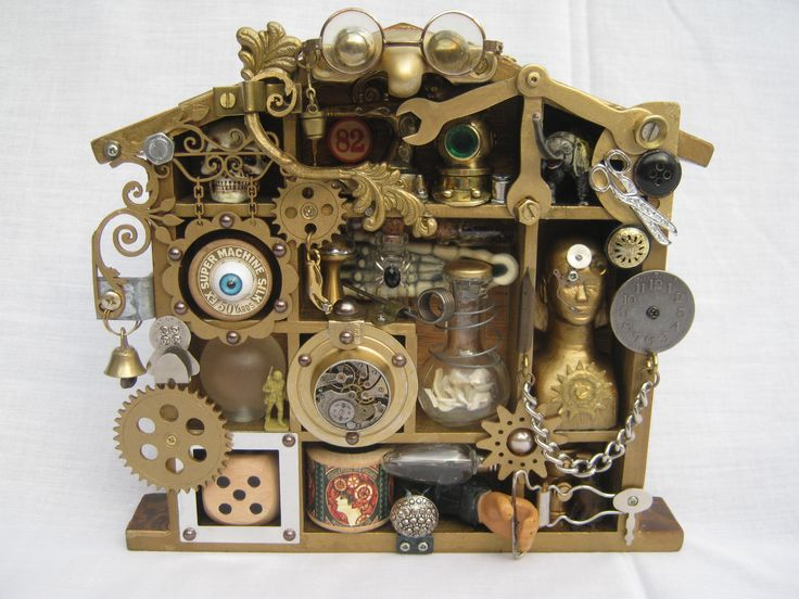 Sold Another Steampunk Shadow Box To See My Latest Items