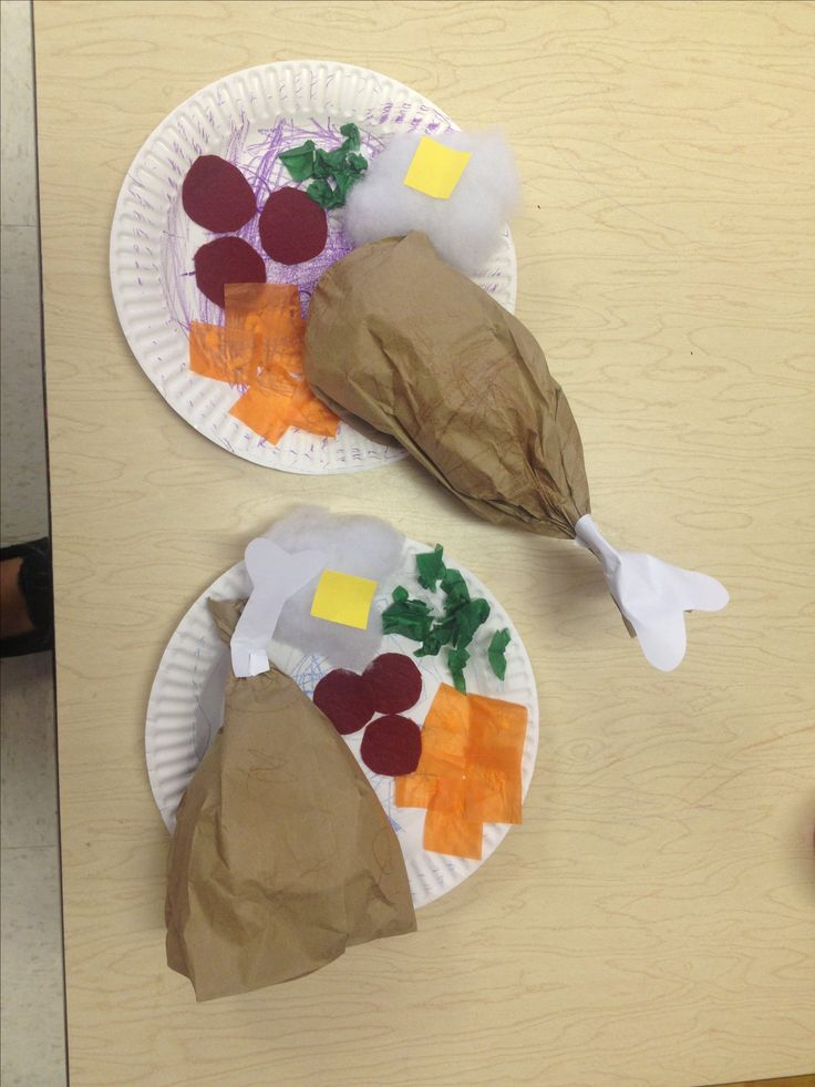 Preschool Thanksgiving craft