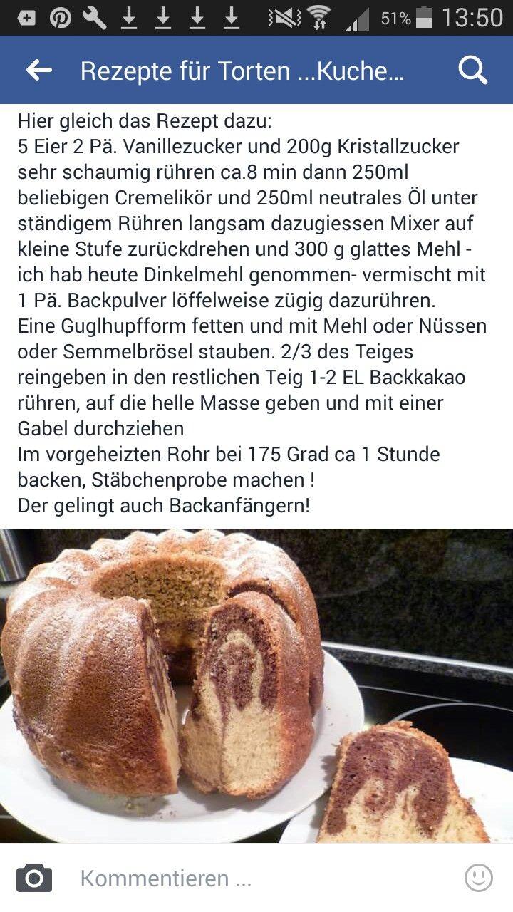 Likör-Guglhupf