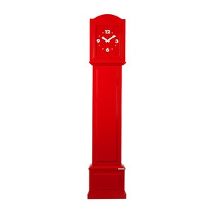 Grandfather Clock Reckless Red