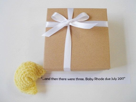 New grandparents gift Baby announcement Fortune by prettyobject