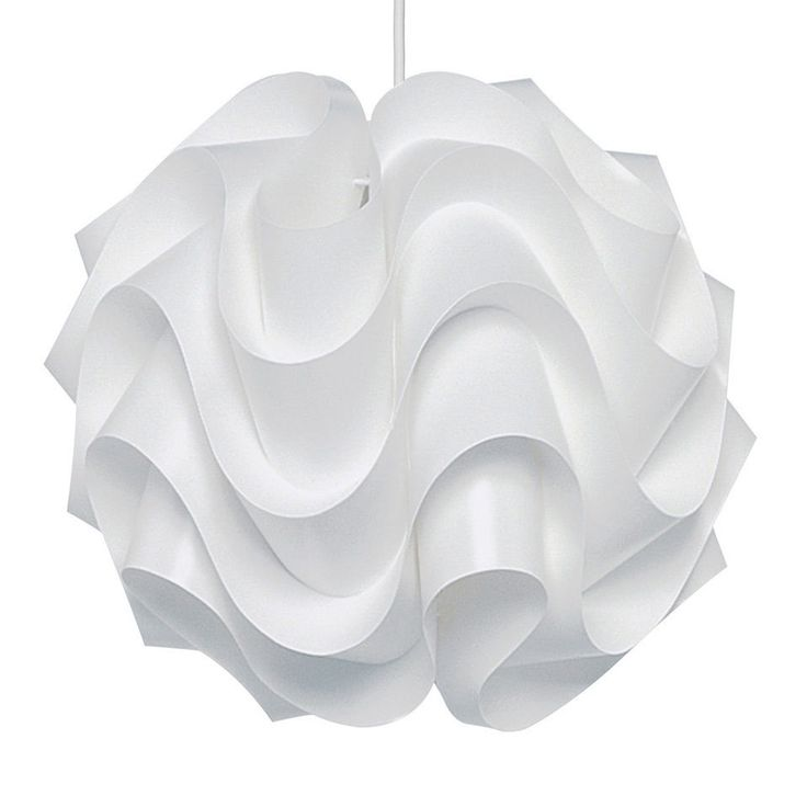 Modern White Retro Style Ceiling Light Shade Pendant Fitting Lampshade Easy  Fit