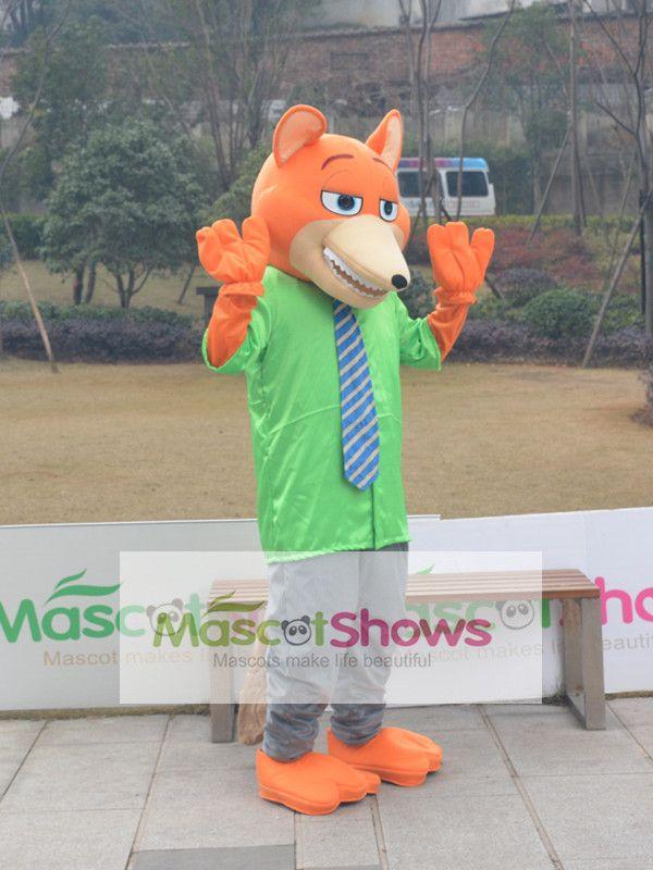 2016ディズニー新作映画『Zootopia』 ズートピア キツネNick Wildeの着ぐるみ キツネの着ぐるみ http://www.mascotshows.jp/product/disney-Zootopia-fox-Nick-Wilde-mascot-costume.html
