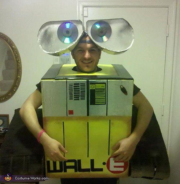 Disfraz de Wall-E.