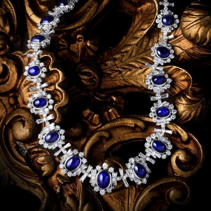 This Diamond and #Sapphire Demi-Parure (Lot 305), is one Fortuna's most coveted lots in our Summer Fine Jewels Auction. Estimated Price $20,000-$30,000.  #fortunaauction #jewelry