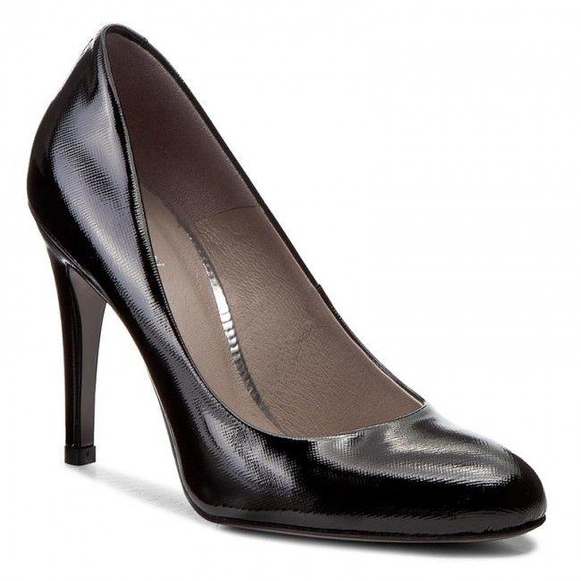 Pantofi cu toc subțire GINO ROSSI - DCG006-H97-ZN00-9900-0 99