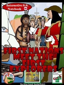 THE FIRST NATIONS MEET THE FIRST EXPLORERS (R TO 1713): Interactive Grade 5 Social Studies Notebook are always reduced 50% the first 24 hours following publishing on TPT. Become a follower of my store by clicking on the Green Star at the top of the screen to receive notification about my new products, to take advantage of this special, limited offer!Product Description: THE FIRST NATIONS MEET THE FIRST EXPLORERS (PRIOR TO 1713): Interactive Grade 5, Ontario Social Studies No...