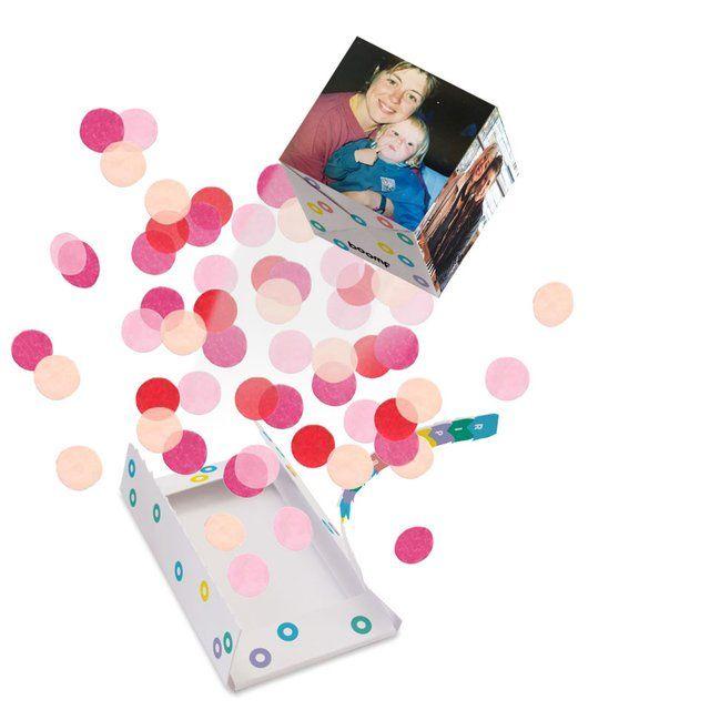 Boomf Bomb Exploding Confetti Card Birthday Anniversary Surprise Confetti Cards Confetti Bombs Anniversary Surprise